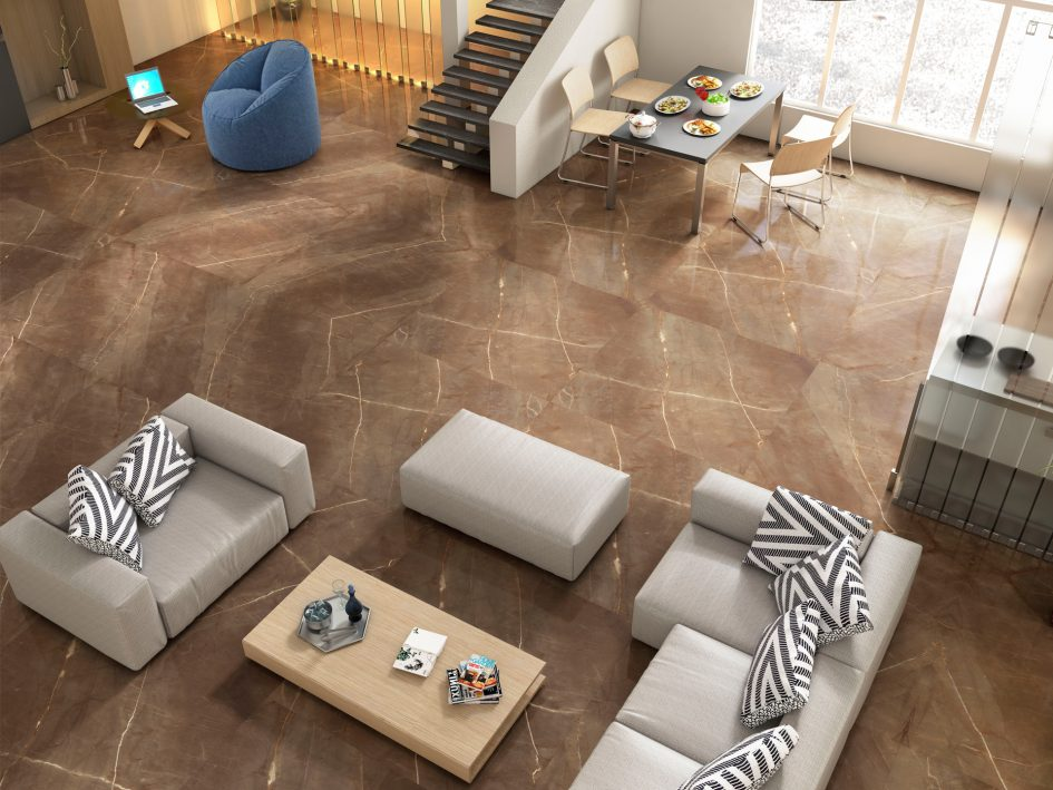 Porcelanato 120x120 Decortiles - Bronzo AC A